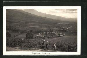 AK Tumaco, Gesamtansicht mit Bergen