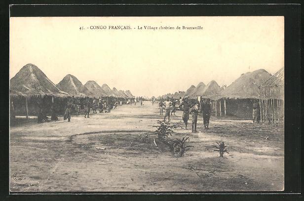 AK Brazzaville, Le Village chretien, Das christliche Dorf