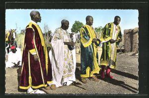 AK Ougadougou, Les Ministres de L'Empereur des Mossis, Moorgho Naba