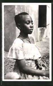 AK Niamey, Type de jeune fille indigene