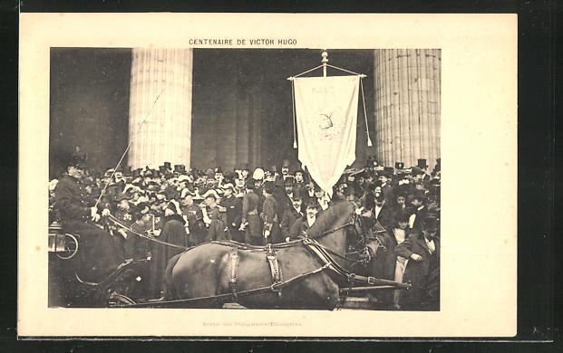 AK Victor Hugo, Centenaire de Victor Hugo