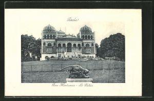 AK Paris, Parc Montsouris, Le Palais, Observatorium