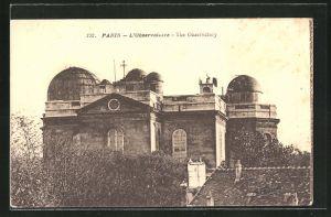 AK Paris, L'Observatoire, Observatorium