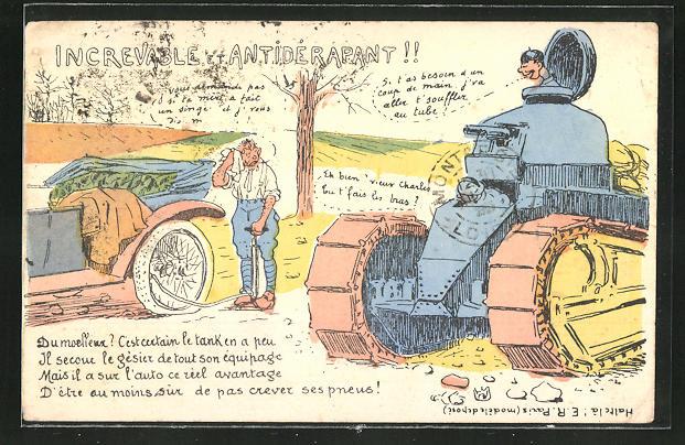 AK Increvable et Antidérapant!, Soldatenhumor, Panzer