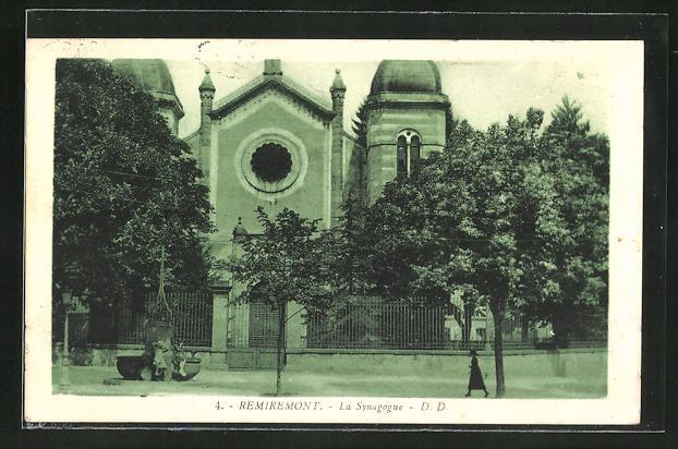 AK Remiremont, La Synagogue