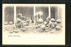 AK Hindu Potters, Töpfer aus Indien