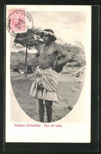 AK Goagira, Tipo de indio, Ureinwohner von Kolumbien