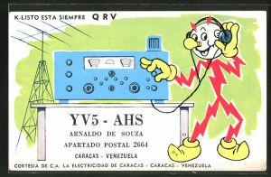 AK Caracas, K-Listo esta Siempre, Radio und Funkmast