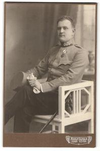 Fotografie Adolf Silaba, Hora Kutna, Musiker Österreich-Ungarn in Uniform