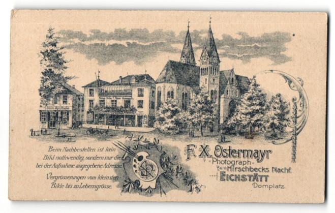 Fotografie Atelier Ostermayr, Eichstätt, Ansicht Eichstätt, Foto-Atelier zwischen Dom & Apotheke