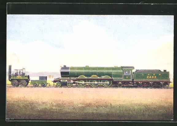 AK englische Eisenbahn, No. 1 Stockton and Darlington Railway Locomotive