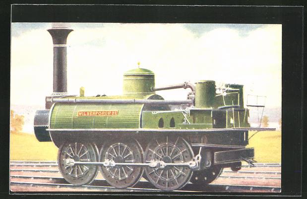 AK englische Eisenbahn, Stockton and Darlington Railway, Mineral Locomotive No. 23