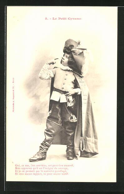 AK 5. Le Petit Cyrano: