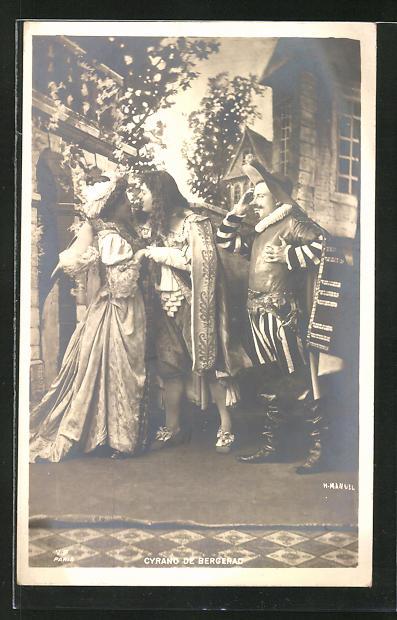 AK Cyrano de Bergerac, Theaterszene