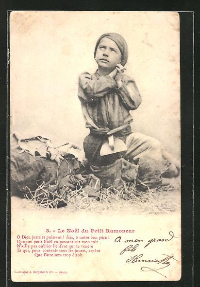 AK 3. Le Noel du Petit Ramoneur: