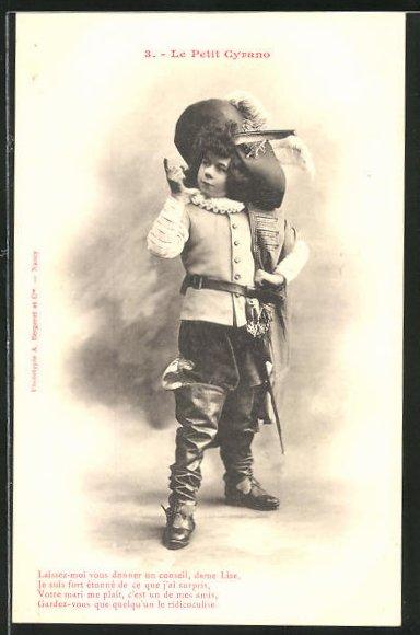 AK 3. Le Petit Cyrano: