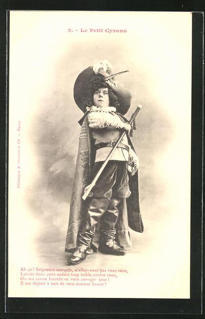 AK 2. Le Petit Cyrano: