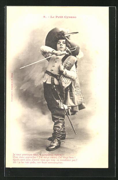 AK 9. Le Petit Cyrano: