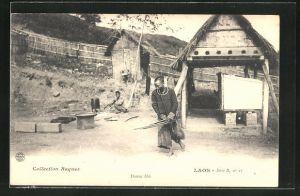 AK Laos, Danse Méo, latischer Tanz