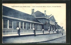 AK Fontenay-sous-Bois, Ecole Communale, Filles, Garcons, Groupe Michelet