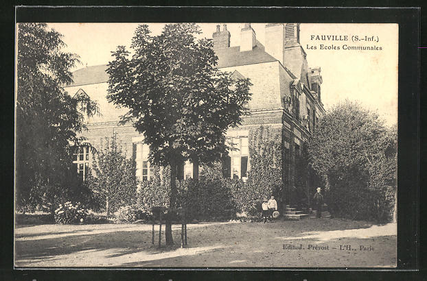 AK Fauville, Les Ecoles Communales