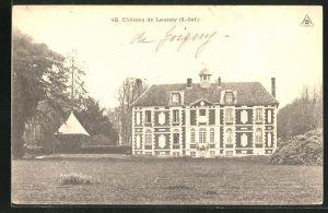 AK Launay, Chateau, Blick zum Schloss