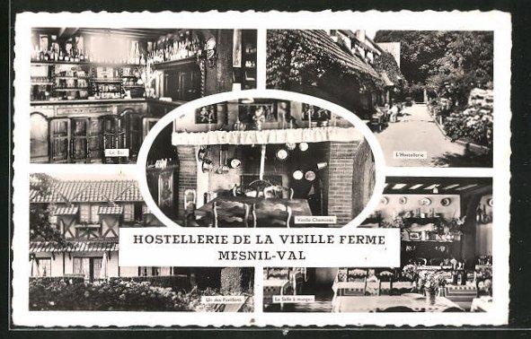 AK Mesnil-Val, Hostellerie de la Vieille Ferme