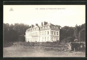 AK Tremauville, Chateau, Blick zum Schloss