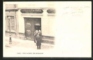 AK Paris, Fort Chabrol, une Délégation, Antisemit Jules Guerin