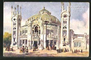 AK Milano, Esposzione di Milano 1906, Salone dei Concerti al Parco, Ausstellung
