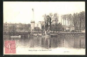 AK Butry-Plage, Le Moulin à Vent
