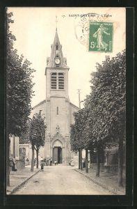 AK Saint-Gratien, L'Eglise