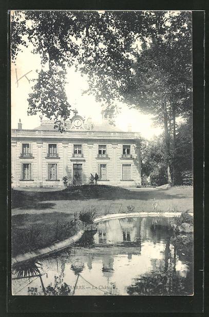 AK La Barre, Le Chateau, Sicht auf das Schloss