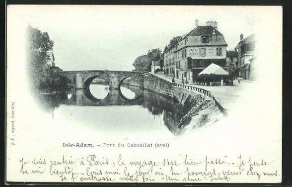 AK Isle-Adam, Pont du Cabouillet, aval