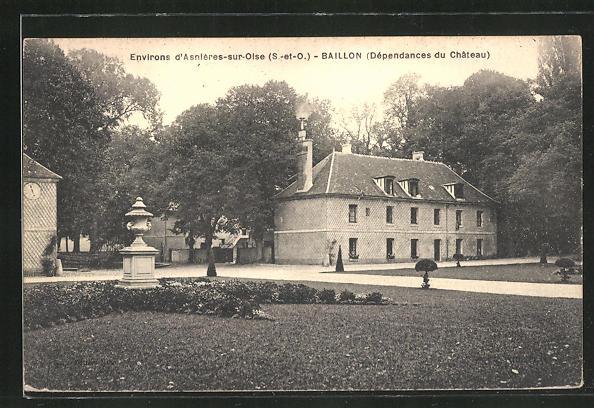 AK Asnieres-sur-Oise / Baillon, Dependances du Chateau