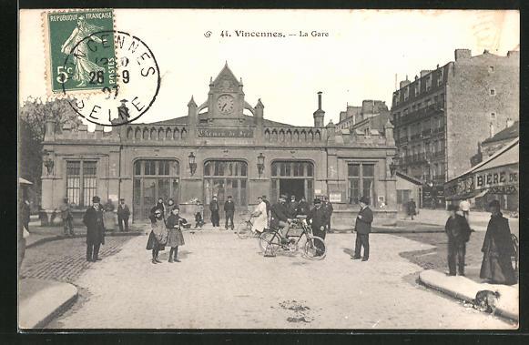 AK Vincennes, La Gare 0