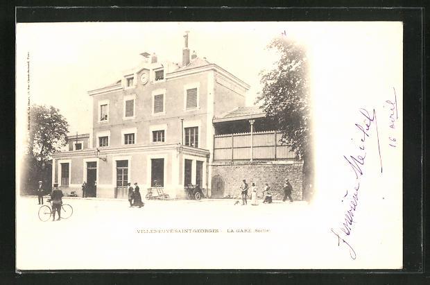 AK Villeneuve-Saint-Georges, La Gare 0