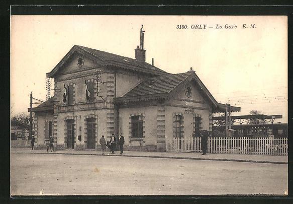 AK Orly, La Gare 0