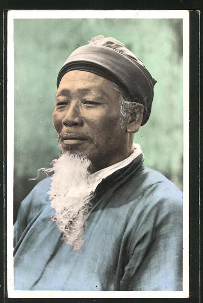 AK Tonkin, Chef de Canton, asiatische Volkstypen