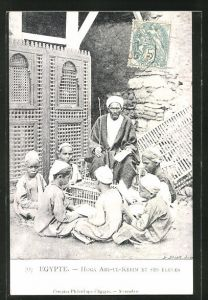 AK Egypte, Hoga Abd-ul-Kèrim et ses Èlèves, Schule