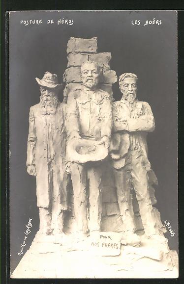 AK Posture de Hèros. Les Boers, Burenkrieg