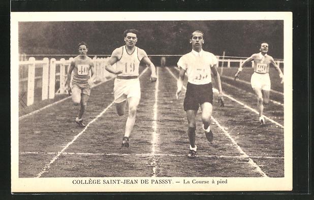 AK Colege Saint-Jean de Passsy, La Course a pied