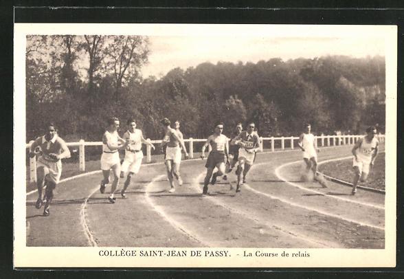 AK Colege Saint-Jean de Passsy, La Course de relais