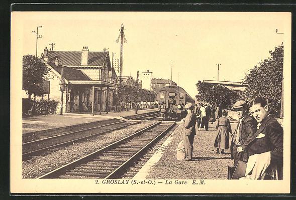 AK Groslay, La Gare 0