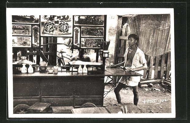 AK Vietnam, Cafè-restaurant ambulant, Händler