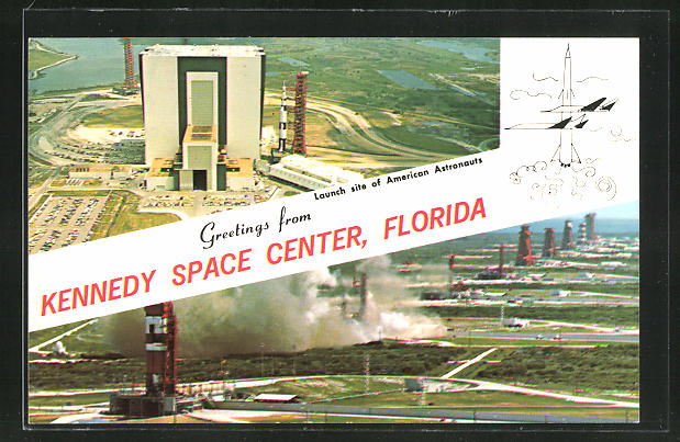 AK Kennedy Space Center, Florida, Launch site of Amreican Astronauts, Raumfahrt