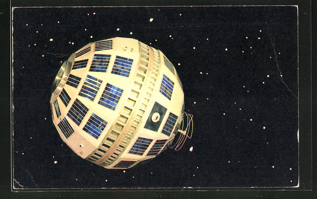 AK Premier Satellite de communication Telstar, Raumfahrt