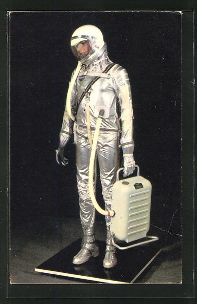 AK Raumfahrer im Raumanzug, Combinaison Spatiale utilisee pour de projet Mercury