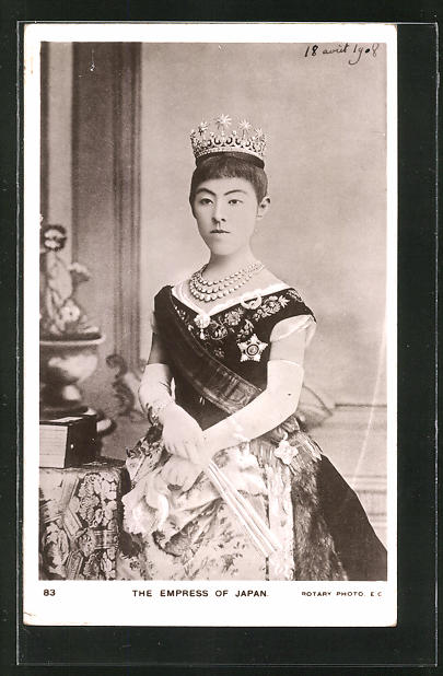 AK The Empress of Japan, Kaiserin Hakuro von Japan