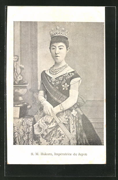 AK S.M. Hakuro, Imperatrice du Japan, Kasierin von Japan 0